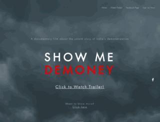 showmedemoney.com screenshot