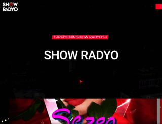 showradyo.com.tr screenshot