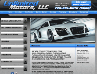 showroomrides.com screenshot