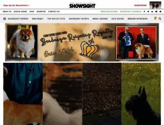 showsightmagazine.com screenshot