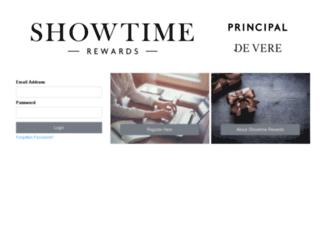 showtime-rewards.co.uk screenshot