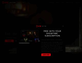 showtimeanytime.com screenshot
