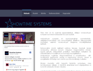 showtimesystems.hu screenshot