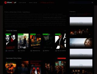 showtv.pl screenshot