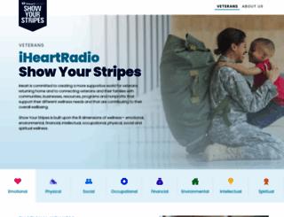showyourstripes.org screenshot