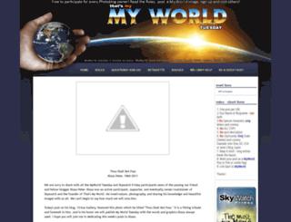 showyourworld.blogspot.com screenshot