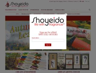 shoyeido.com screenshot