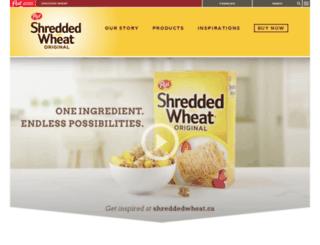 shreddedwheat.ca screenshot