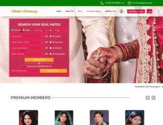 shreematrimony.org screenshot
