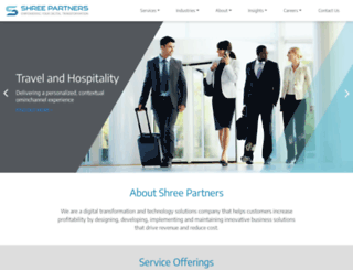 shreepartners.com screenshot