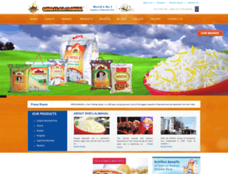 shrilalmahal.org screenshot