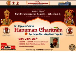 shriswaminarayan.com screenshot