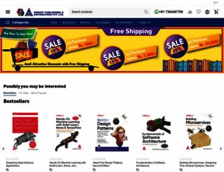 shroffpublishers.com screenshot