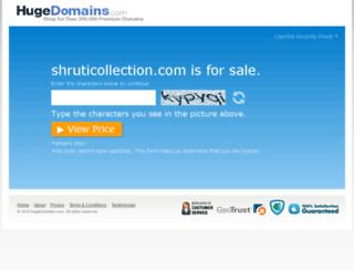 shruticollection.com screenshot