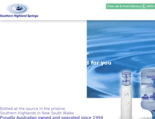 shswater.com.au screenshot