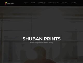 shubanprints.com screenshot