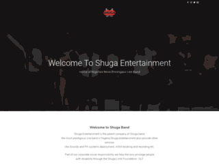 shugaentertainment.com screenshot