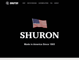 shuron.com screenshot