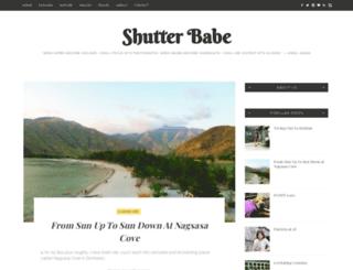 shutterbabe.shykulasa.info screenshot