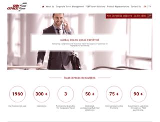 siamexpress.com screenshot