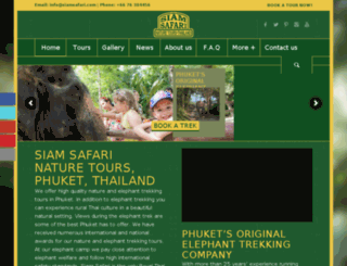 siamsafari.com screenshot