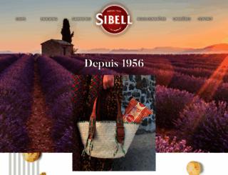 sibell.fr screenshot