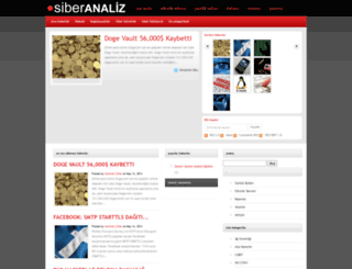 siberanaliz.com screenshot