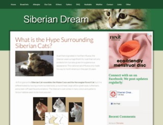 siberian-cats.ca screenshot
