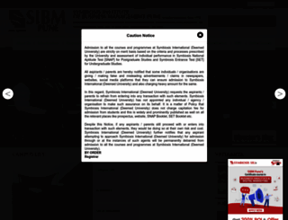 sibm.edu screenshot