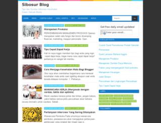 sibosur.blogspot.com screenshot