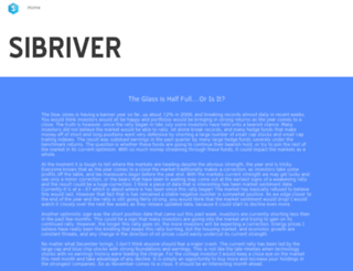 sibriver.com screenshot