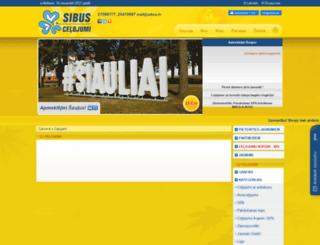 sibus.lv screenshot