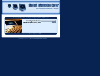 sic.iuic.net.pk screenshot