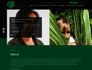 sicb.org screenshot
