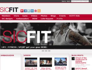 sicfit.com screenshot