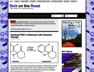 sickontheroad.com screenshot