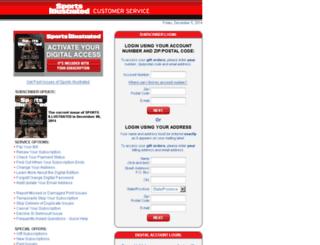 sicustomerservice.com screenshot
