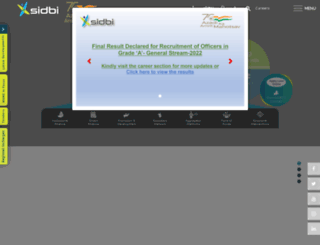 sidbi.in screenshot