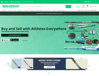 sidelineswap.com screenshot