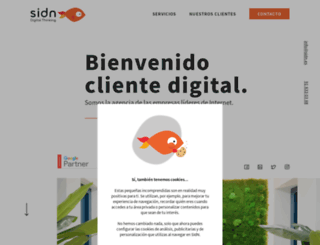 sidn.es screenshot