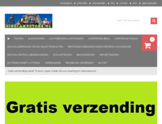 sidscampstore.nl screenshot