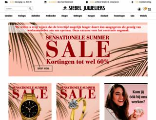 siebeljuweliers.nl screenshot