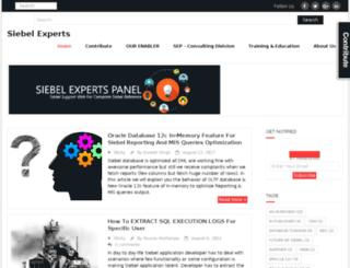 siebeloracle.com screenshot