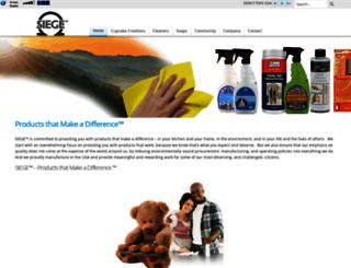 siegebrands.com screenshot