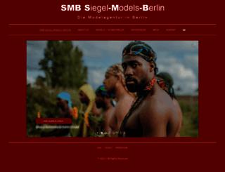siegelmodelsberlin.com screenshot