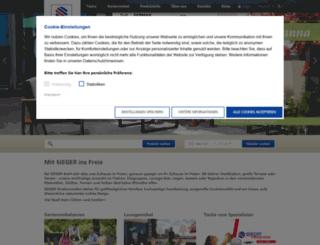 sieger.eu screenshot