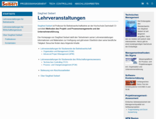 siegfried-seibert.de screenshot