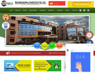 siemsiliguri.org screenshot