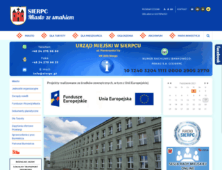 sierpc.pl screenshot