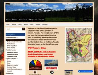 sierrafront.net screenshot